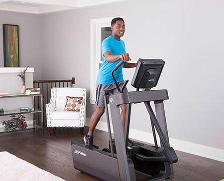 life fitness fs4 elliptical crosstrainer titanium. Black Bedroom Furniture Sets. Home Design Ideas