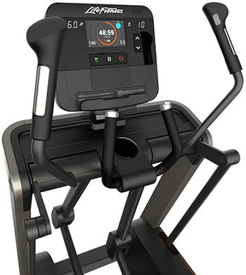life fitness fs4 elliptical crosstrainer dark wood walnut. Black Bedroom Furniture Sets. Home Design Ideas