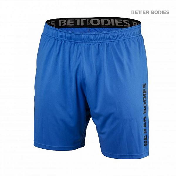 Better Bodies Loose Function Shorts - Bright Blue Detail 1