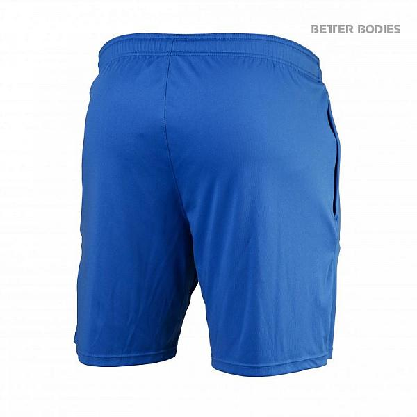 Better Bodies Loose Function Shorts - Bright Blue Detail 2