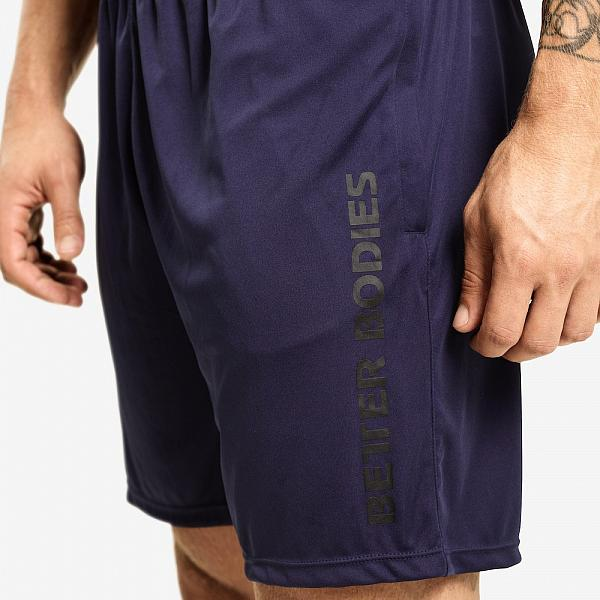 Better Bodies Loose Function Short - Dark Navy Detail 4